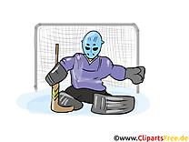 But images gratuites – Hockey clipart