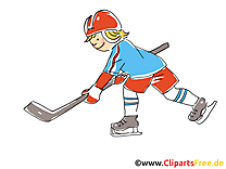 Clip art gratuit cross - Hockey dessin
