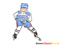 Clipart palet - Hockey dessins gratuits