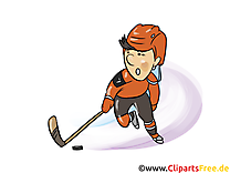 Cross illustration - Hockey images