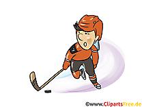 Cross illustration - Hockey images