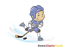 Cross images gratuites – Hockey clipart