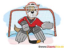 Gardien de but dessin - Hockey images