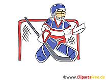 Hockey sur glace clipart images t l charger gratuit - Dessin gardien de but ...