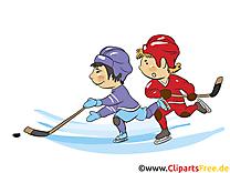 Hockey dessin gratuit à télécharger