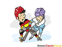 Hockeyeurs dessins gratuits - Hockey clipart