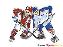 Jeu image gratuite – Hockey clipart
