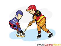 Joueurs clipart gratuit - Hockey images