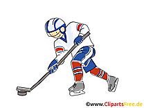 Palet dessin - Hockey clip arts gratuits