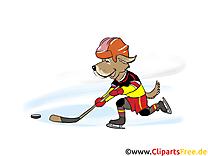 Palet illustration - Hockey images