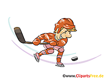 Palet illustration gratuite - Hockey clipart