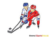Palet image gratuite - Hockey cliparts