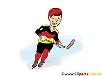 Sport d'hiver dessin - Hockey images