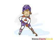 Sport d'hiver hockey image à télécharger