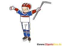 Vainqueur image - Hockey images cliparts
