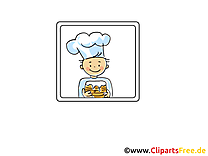 Cuisinier dessins gratuits - Icône clipart