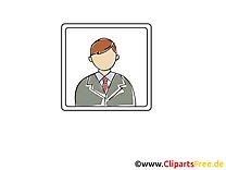 Homme sans visage clipart - Icône dessins gratuits