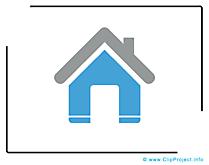 Image gratuite maison - Icône cliparts