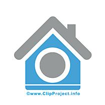Maison clip arts gratuits - Icône illustrations