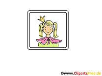 Princesse clipart gratuit - Icône images