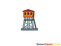 Belvédère clip art gratuit - Industrie dessin