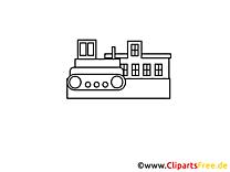 Bulldozer clip art à imprimer – Industrie images