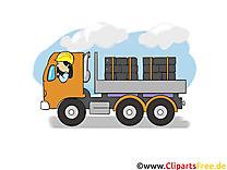 Camion clip art gratuit – Industrie images