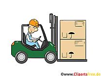 Chariot élévateur images - Industrie dessins gratuits