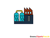 Cliparts gratuis usine - Industrie images