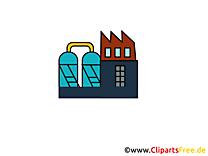 Cliparts gratuis usine - Industrie images