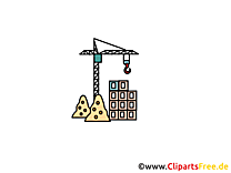 Construction image - Industrie clipart