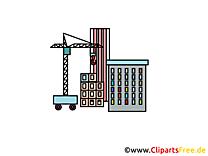 Dessin grue - Industrie cliparts à télécharger
