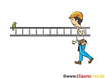 Échelle clip arts gratuits - Industrie illustrations