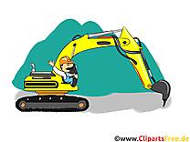 Excavateur image à télécharger - Industrie clipart