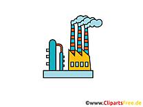 Illustration usine - Industrie images gratuites
