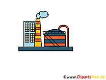 Images usine - Industrie clip art gratuit