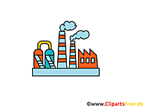 Industrie image gratuite - fabrique illustration