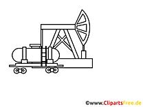 Raffinerie clip art à colorier – Industrie images