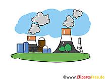 Usine clip arts gratuits - Industrie illustrations
