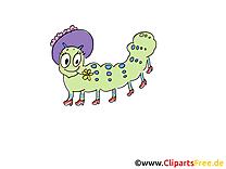 Chenille clip art image gratuite