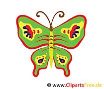 Papillon dessin gratuit à télécharger