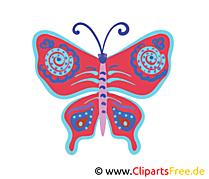 Papillon image à télécharger clipart