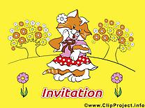 Chat images - Invitation clip art gratuit