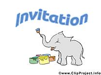 Éléphant images - Invitation clip art gratuit