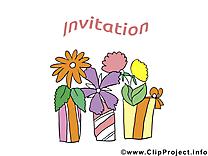Fleurs clipart - Invitation dessins gratuits
