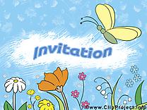 Fleurs dessin à télécharger - Invitation images