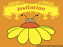 Insect clip art gratuit - Invitation dessin