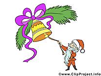Clochette clip art gratuit – Avent dessin