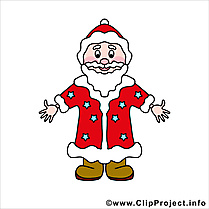 Père Noël images - Fête dessins gratuits