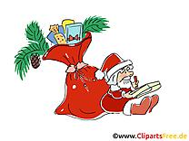 Sac père noël clip arts gratuits – Saint Nicolas illustrations